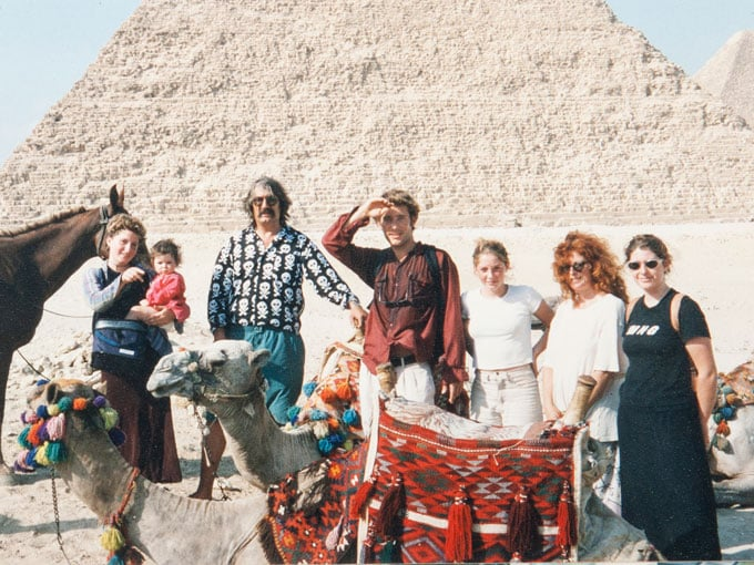 The Cassels family in Egypt