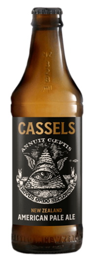 Cassels APA American Pale Ale Craft Beer Bottle