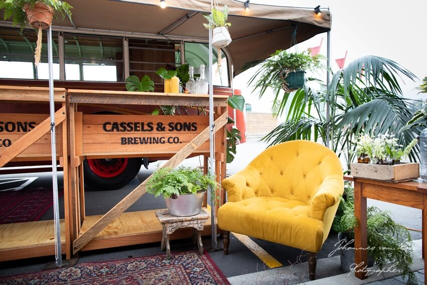 Cassels Beer Bus Function Setup