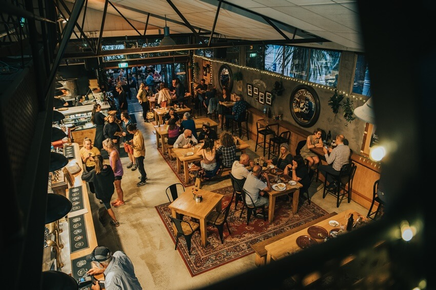 Cassels Brewery Bar and Restaurant in Christchurch