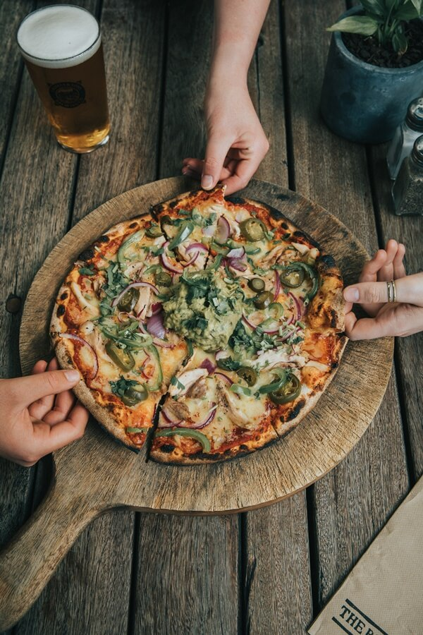 Wood Fired Pizza from Cassels Brewery Restaurant & Bar in Christchurch