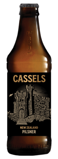 Cassels Pilsner craft beer single bottle