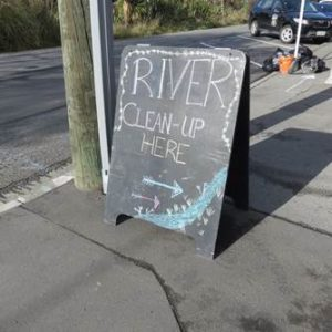 Cassels community involvement - river clean up in Christchurch