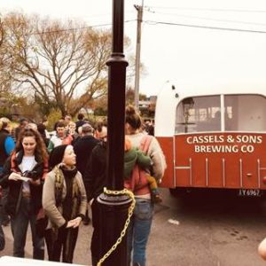 Cassels community involvement - beer bus