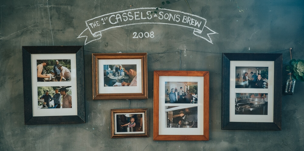 The first Cassels brew - craft beer brewery Christchurch