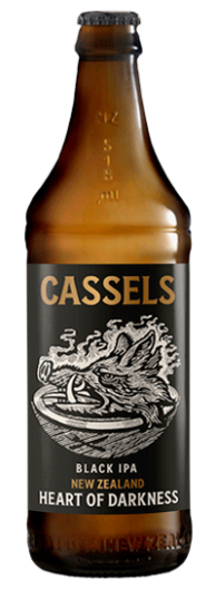 Cassels Heart of Darkness single beer bottle