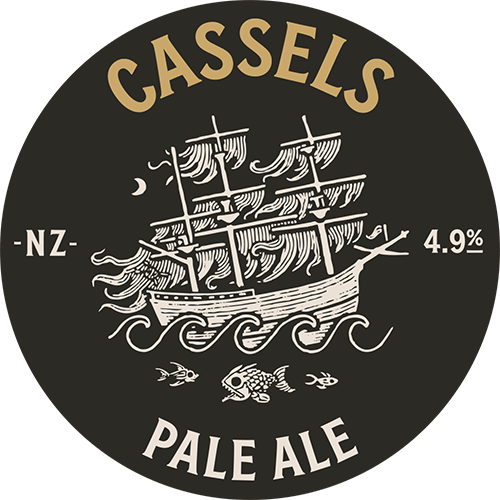 Pale Ale tap beer badge - Cassels Craft Beer