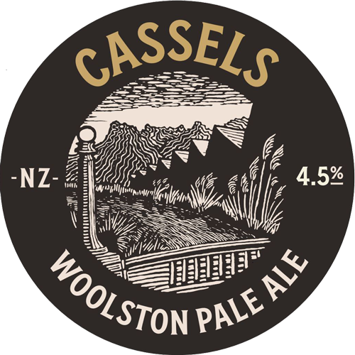 Cassels Woolston Pale Ale Tap Badge