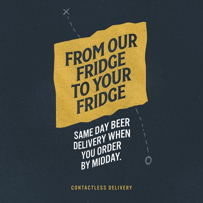 Cassels Fridge to Fridge Same Day Beer Delivery