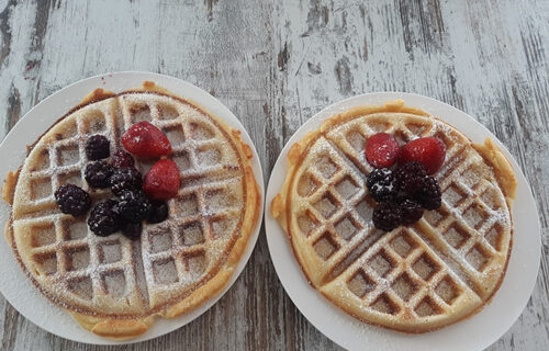 Waffles with Cassels Woolston Pale Ale Recipe