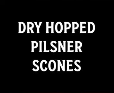 pilsner scones recipe video